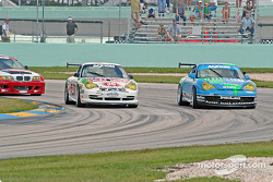 #38 TPC Racing Porsche GT3 Cup: Marc Bunting, Andy Lally, #41 Orison-Planet Earth Motorsports Porsche GT3 Cup: Wayne Nonnamaker, Joe Nonnamaker, Will Nonnamaker