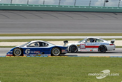 #6 Michael Shank Racing Lexus Doran: Oswaldo Negri Jr., Burt Frisselle, #86 G&W Motorsports Porsche GT3 Cup: Mae Van Wijk, Danny Marshall