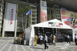 Shanghai International Circuit paddock area