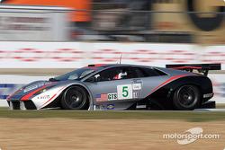 #5 Krohn-Barbour Racing Lamborghini Murcielago R-GT: David Brabham, Peter Kox