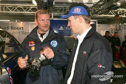 Mattias Ekström erklärt seinen Audi A4 DTM