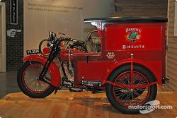 Harley Davidson motorcycle display