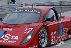 La Lexus Doran n°27 Doran Lista Racing : Didier Theys, Andrea Montermini
