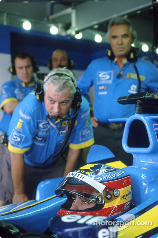 Pat Symonds et Fernando Alonso