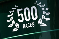 Lotus celebrate their 500th race