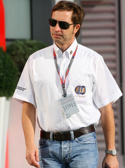 Heinz-Harald Frentzen is this weeks FIA steward