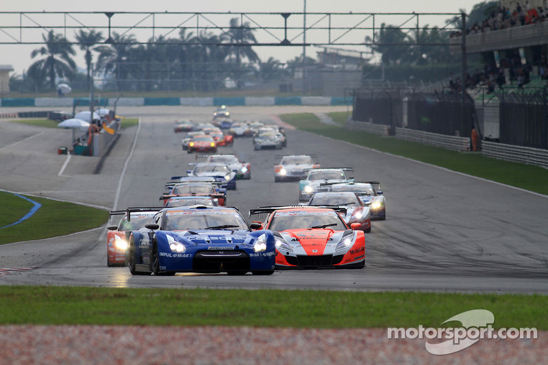 Start van de race - GT500