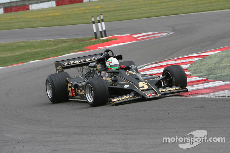Classic F1 Lotus demonstraties