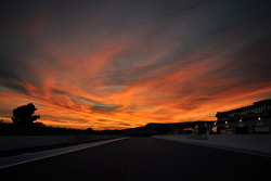 Sunset over Circuit Paul Ricard