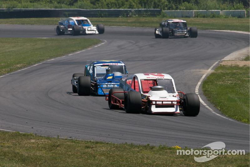 Dale Quarterley rijdt voor Todd Szegedy