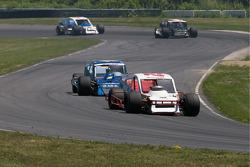 Dale Quarterley devant Todd Szegedy en fin de course