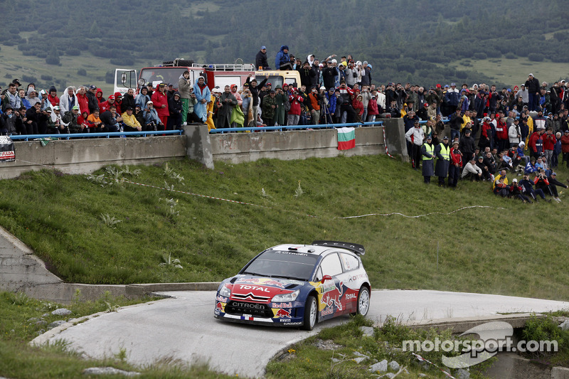 Sébastien Loeb en Daniel Elena, Citroën C4, Citroën Total World Rally Team