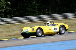 #42 Lister Jaguar Knobbly 1958: Chris Lunn, Christopher Keith-Lucas