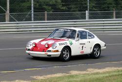 #1 Porsche 911 T 1968: Dominique Moorkens, Eric de Seynes