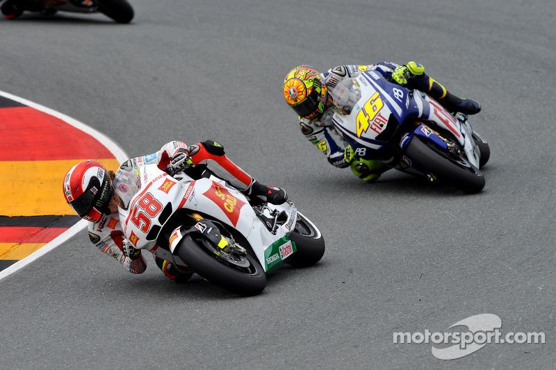 Marco Simoncelli, San Carlo Honda Gresini, Valentino Rossi, Fiat Yamaha Team