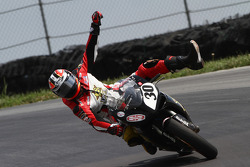 #30 DNA Energy Drink/CNR Motorsports Ducati - Ducati 848: Bobby Fong happy with his 2nd podium finish of the weekend