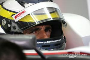 Pedro de la Rosa back next season with HRT