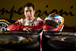 Daniel Morad winner of race 8 in the GP3 series at Silverstone