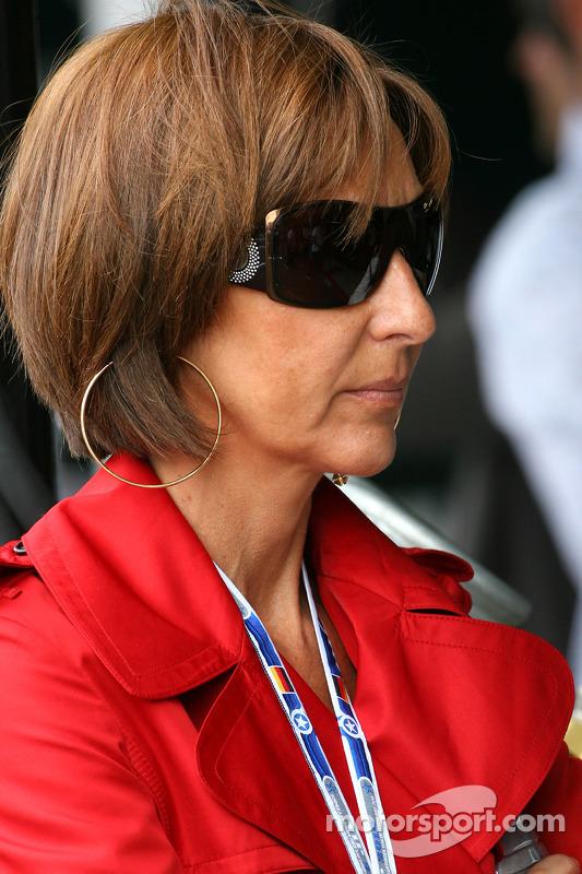 Viviane Senna, moeder van Bruno Senna, Hispania Racing F1 Team