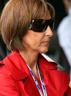 Viviane Senna, mother of Bruno Senna, Hispania Racing F1 Team