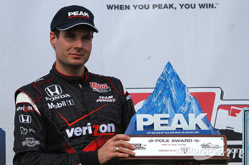 Le poleman Will Power, Team Penske
