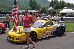 Corvette Racing pitspoes