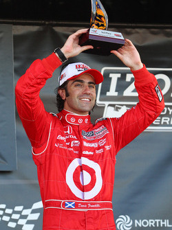 Podium: third place Dario Franchitti, Target Chip Ganassi Racing
