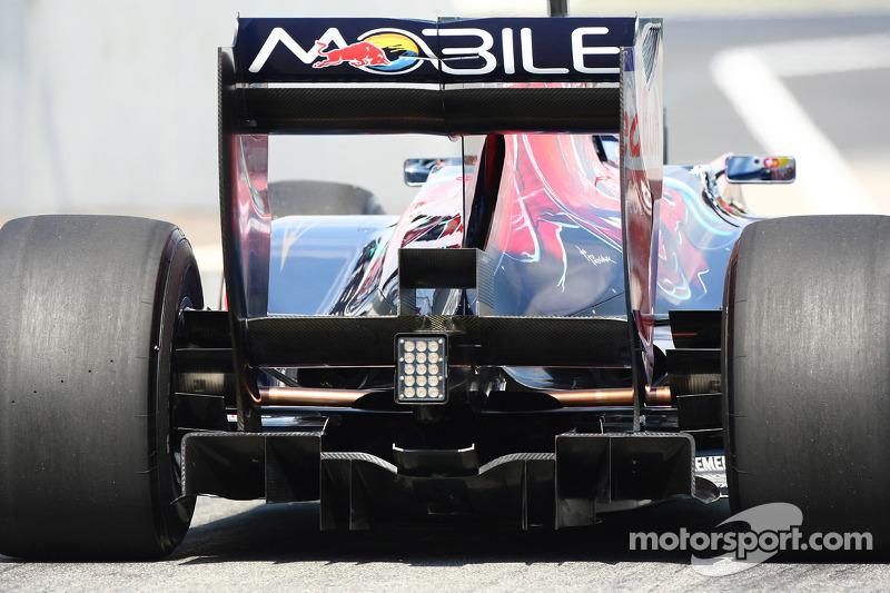 Toro Rosso diffuser