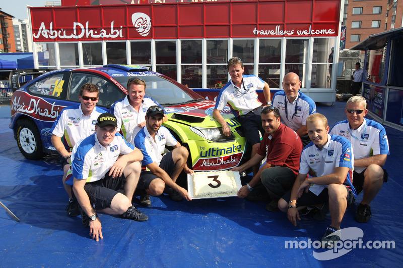 BP Ford Abu Dhabi World Rally Team, Abu Dhabi Sponsoring