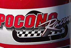 Pocono Raceway signage
