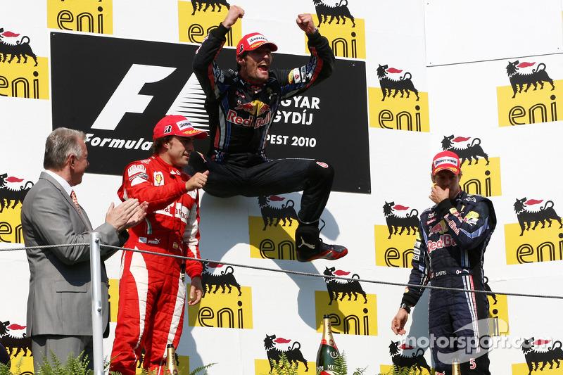 Подіум: 1. Марк Веббер, Red Bull - Renault. 2. Фернандо Алонсо, Ferrari. 3. Себастьян Феттель, Red B
