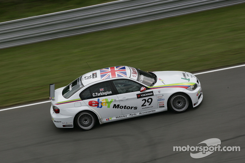 Colin Turkington eBay Motors BMW 320si