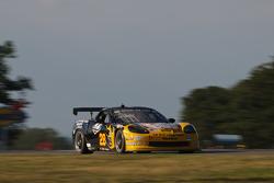 #28 LG Motorsports Corvette: Kelly Collins, Eric Lux