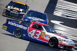 A.J. Allmendinger, Richard Petty Motorsports Ford spins