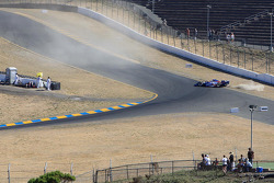 Milka Duno, Dale Coyne Racing spins