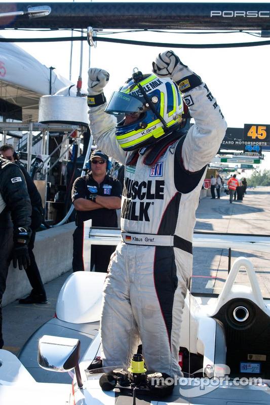 Polepositie Mobil1 Grand Prix of Mosport #6 Team Cytosport Porsche RS Spyder: Klaus Graf