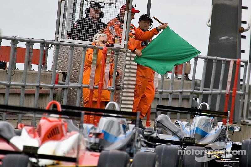 F3 kwalificaties, rode vlag