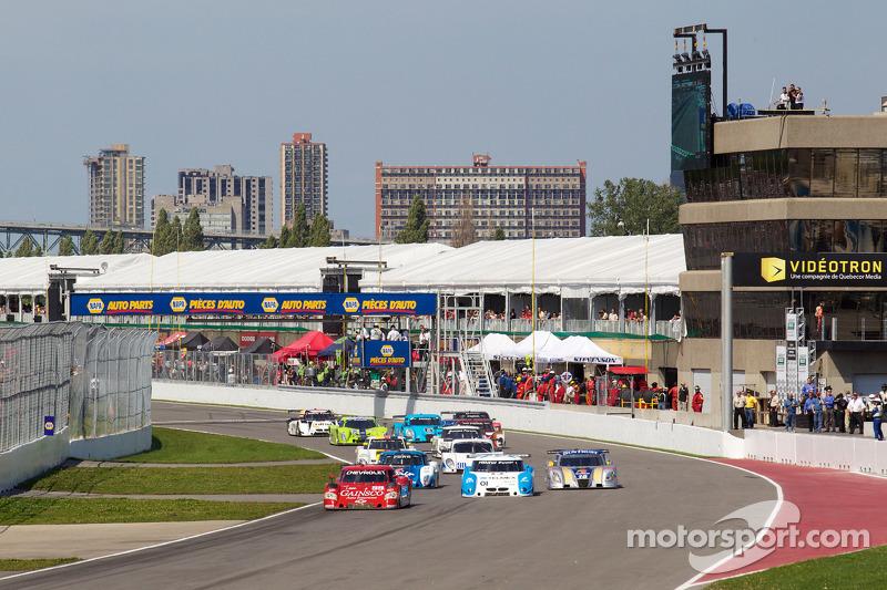 DP start: #99 GAINSCO/ Bob Stallings Racing Chevrolet Riley: Jon Fogarty, Alex Gurney voert het veld