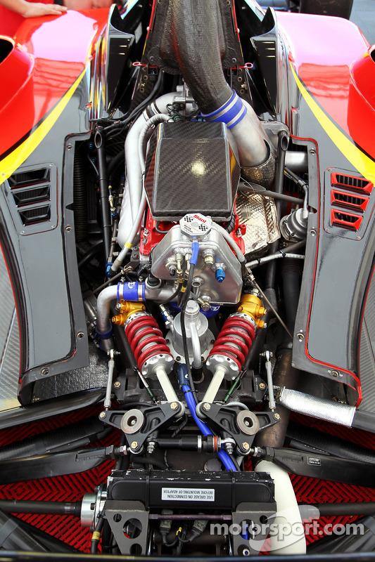 Audi 4-cilinder turbo in de wagen van Ricardo Teixeira