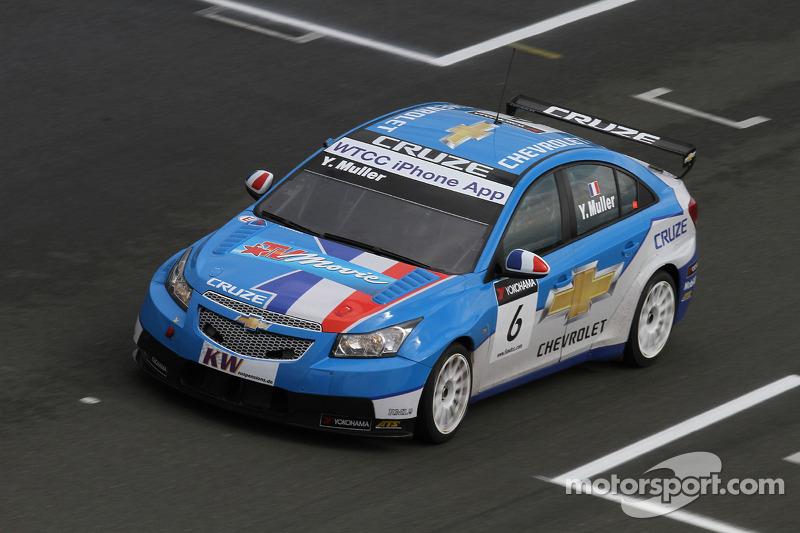 2010 - Yvan Muller (Chevrolet Cruze LT)