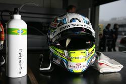 Helmet of Augusto Farfus BMW Team RBM BMW 320si