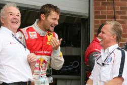 Martin Tomczyk, Audi Sport Team Abt en Johnny Herbert