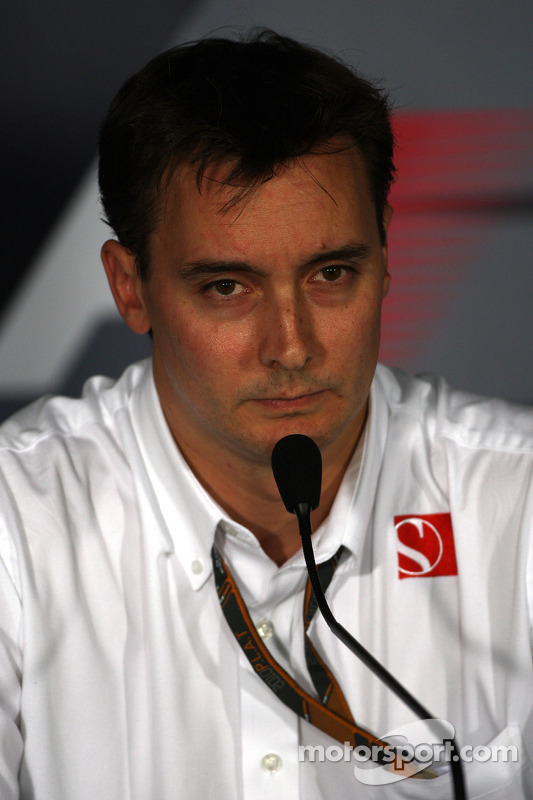 Friday press conference: James Key, BMW Sauber F1 Team