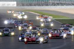 Start: Allan McNish leads