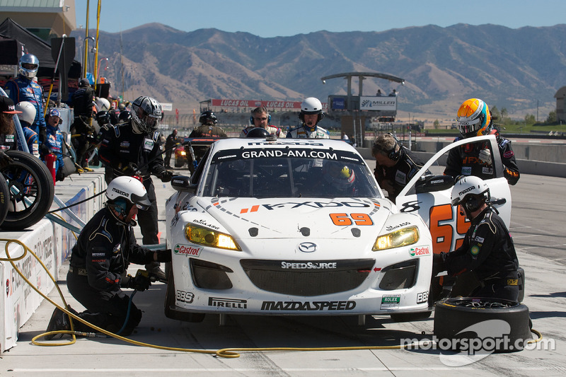 Pitstop #69 SpeedSource Mazda RX-8: Emil Assentato, Jeff Segal