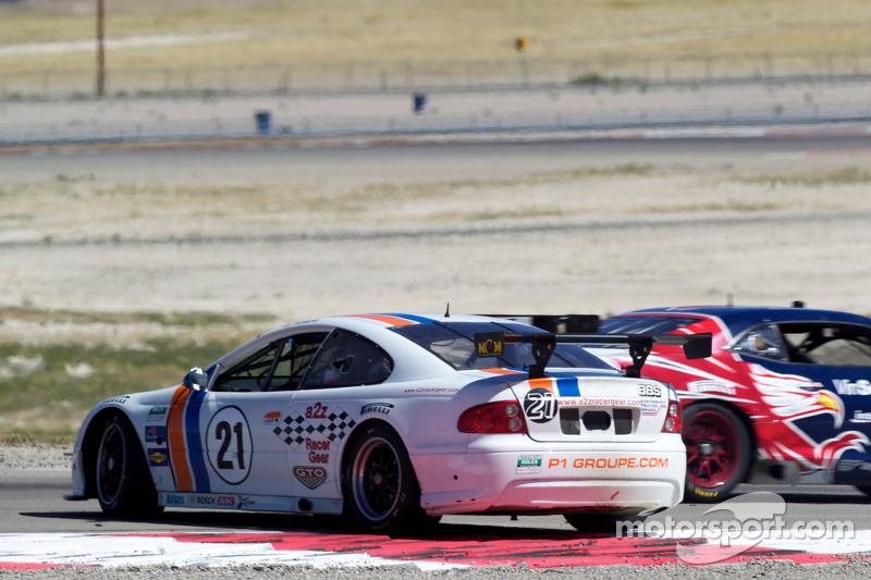 Spin voor #21 Matt Connolly Motorsports Pontiac GTO.R: Lee Carpentier, Dean Martin