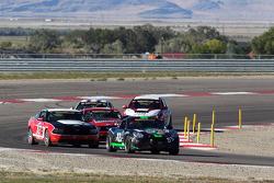 #83 BGB Motorsports Porsche Cayman: Duncan Ende, Guy Cosmo, #16 Multimatic Motorsports Mustang Boss 302R: Gunnar Jeannette, Frankie Montecalvo