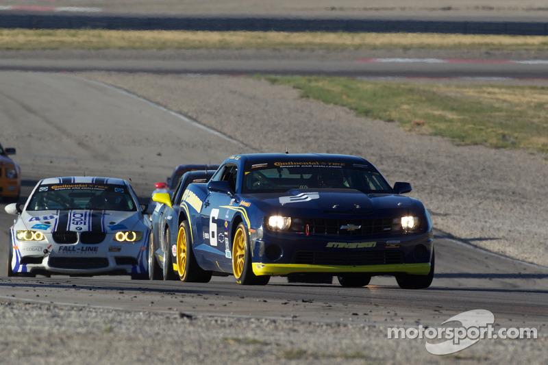 #6 Stevenson Motorsports Camaro GS.R: Matt Bell, Jeff Bucknum