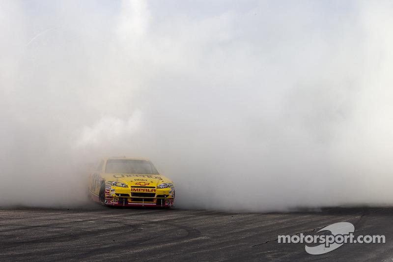 Race winnaar Clint Bowyer, Richard Childress Racing Chevrolet