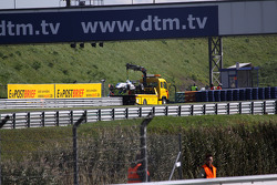 Edoardo Mortara, Signature Dallara F308 Volkswagen, abandonne